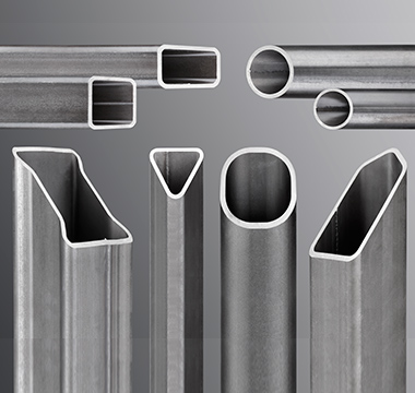 The high-strength steel tubing at 700 MPa