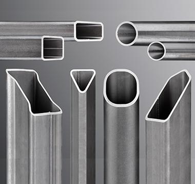 Perfis tubulares estruturais avançados de alta resistência