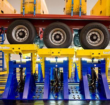 Os aços de alta resistência reduzem o peso e aumentam a capacidade de carga de carretas