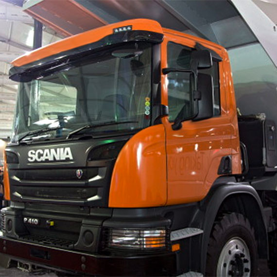 SSAB and Scania build a new kind of tipper