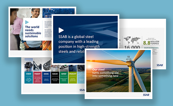 SSAB Corporate presentation 2016