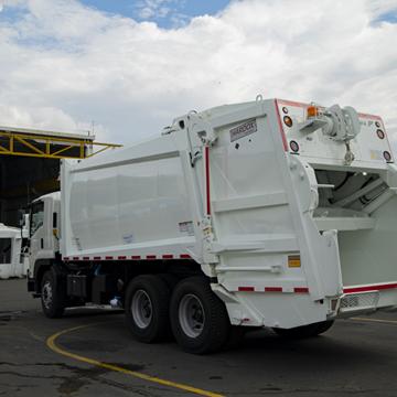 garbage truck manufacturer Fanalca