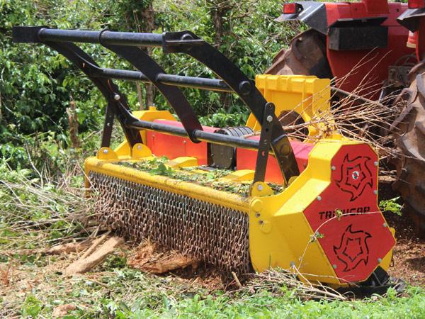 Triturador agroflorestal