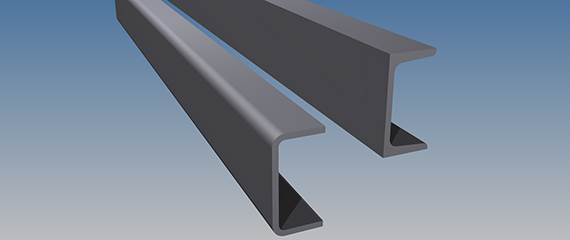 Replacing hot-rolled beams with cold-formed open sections