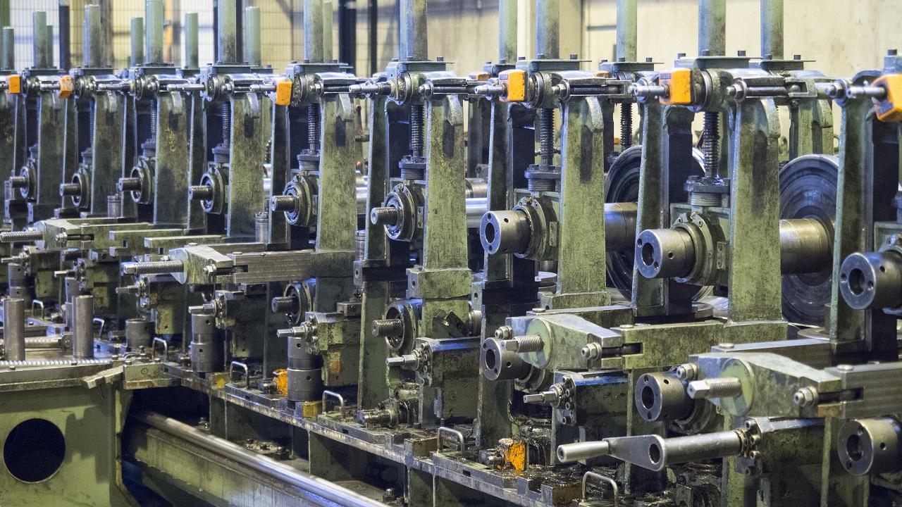 Roll-forming line i SSAB Toijala mill