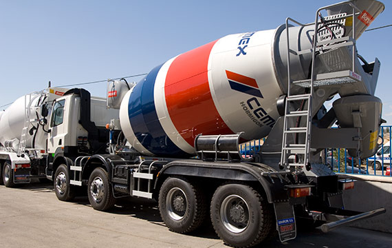Raex applications conrete and cement