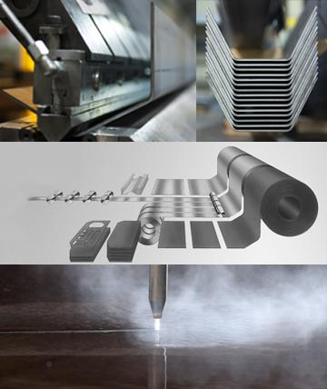 Steel service center
