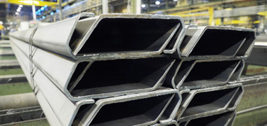High quality roll formed top rails made from SSAB steel