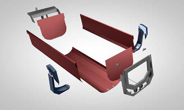 SSAB Shape tipper body kit