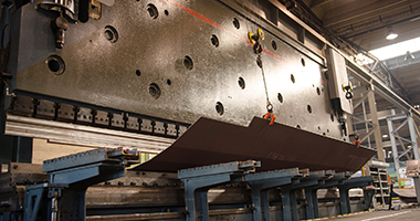 SSAB Processing services - Bending/press breaking