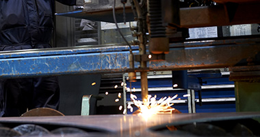 SSAB Processing services - Flame cutting
