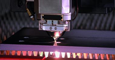 Obróbka stali - cięcie laserowe