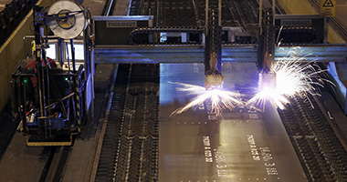 SSAB Processing services - Plasma cutting