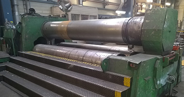 SSAB Processing services - Plate roll bending