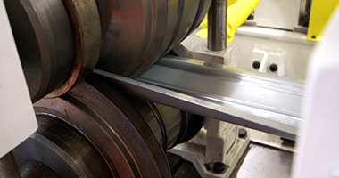 Obróbka stali - formowanie na rolkach