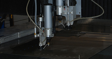 SSAB Processing services - Water jet cutting