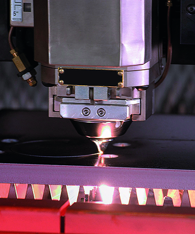 SSAB Processing services Laser cutting