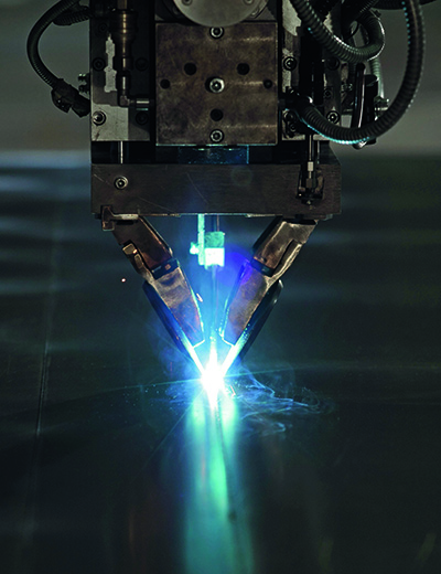 SSAB Processing services Laser welding