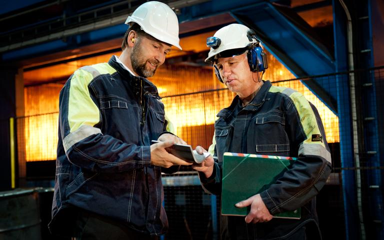 Vysoká produktivita oceli SSAB Domex