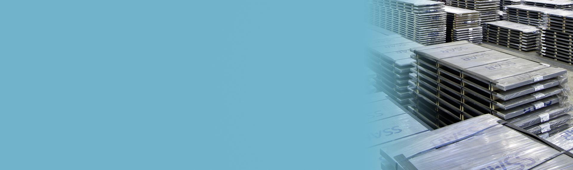 Brett produktsortiment för dina behov – SSABs lager