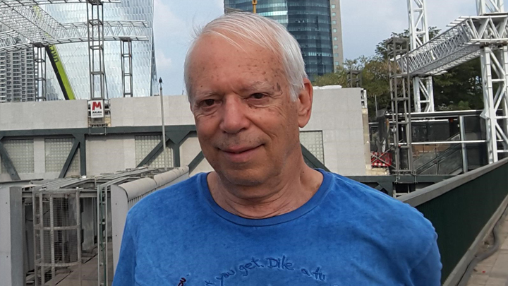 Arkkitehtuurin professori Eri Goshen