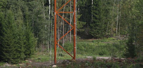 Väderbeständigt stål håller praktiskt taget för evigt utan målning eller annat underhåll, vilket ger stora fördelar för miljön.
