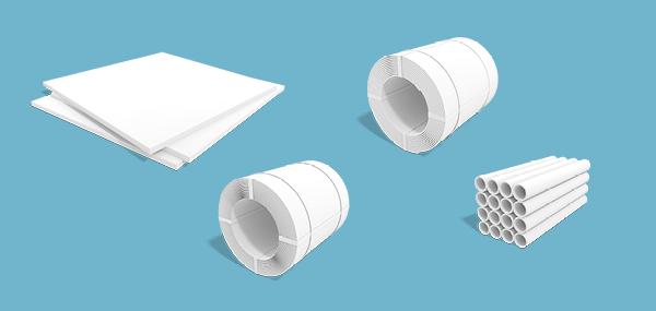 SSAB Weathering kann als warmgewalztes Quartoblech, warm- oder kaltgewalzter Bandstahl, Rohre oder Profile bestellt werden.