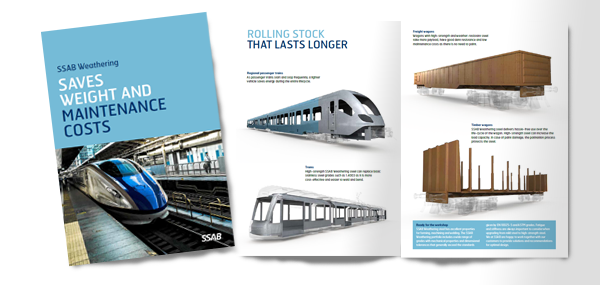 Heavy transport brochure