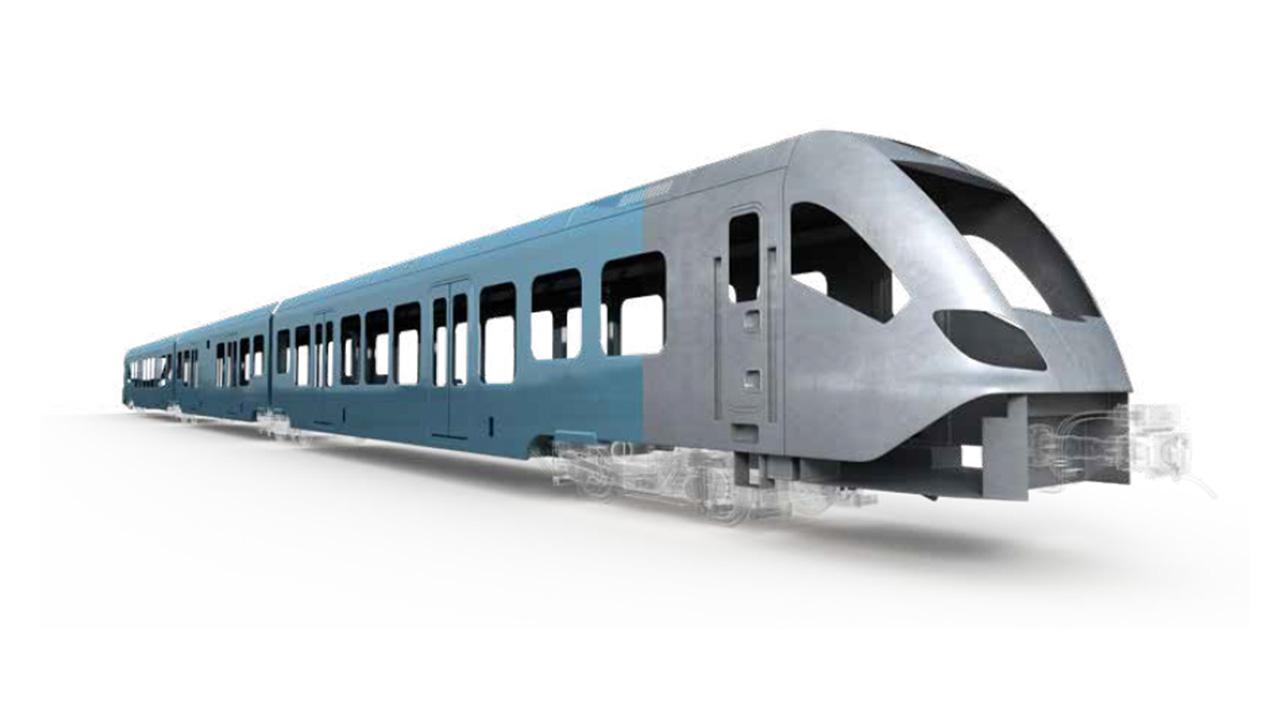 Regional passenger train