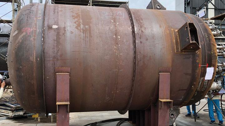 SSAB weathering steel in heat exchangers