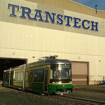 Transtech: caso de aplicación de acero SSAB Weathering