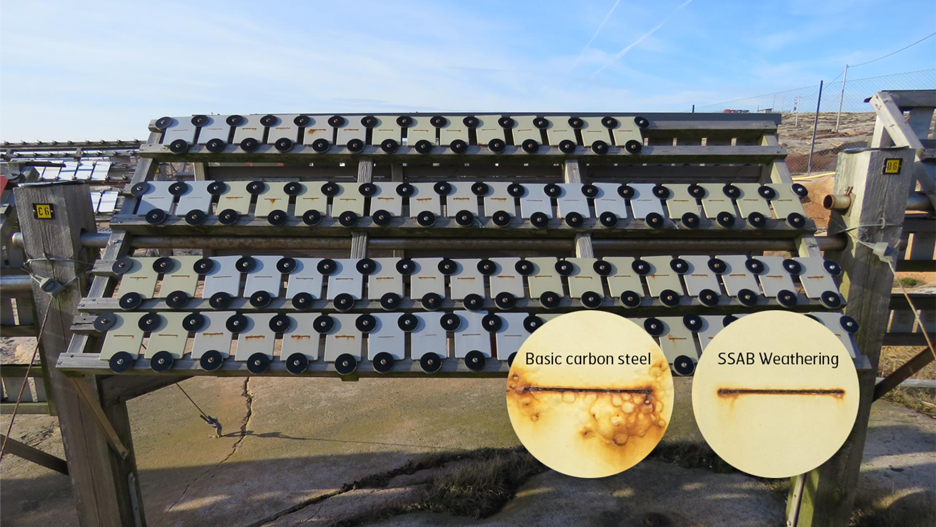 Corrosion resistance test at Bohus Malmön