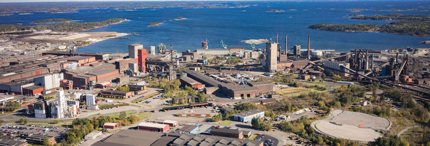 Swedish steel prize mill tour