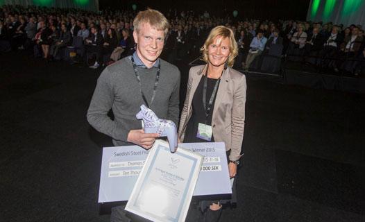 University Steel Prize winner 2015