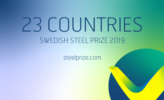 Swedish steel prize applications 2019
