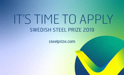 Swedish steel prize apply 2019