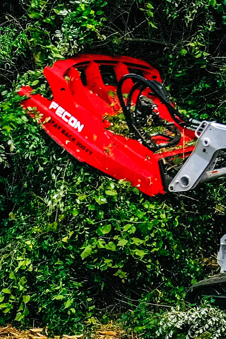 Rotors designed with Strenx® 100 XF for efficient forestry operations.