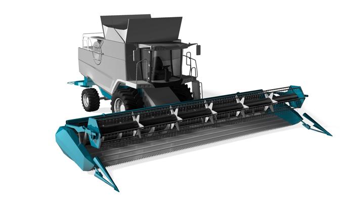 Erntemaschine mit Strenx® Hochleistungsstahl