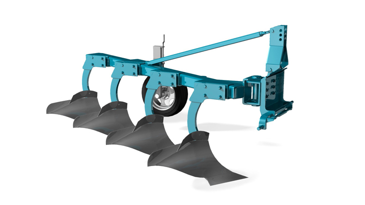 Plow with Strenx® Performance steel
