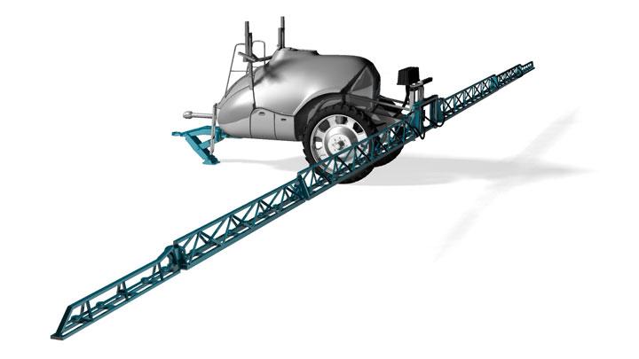 Barra irroratrice con acciaio performante Strenx®