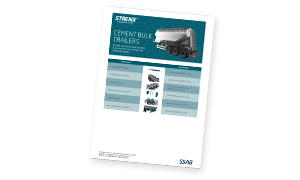 strenx for cement bulk trailers