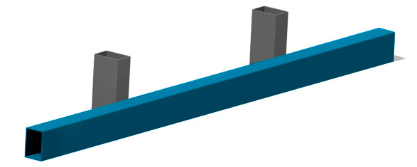 RUPD cross beam