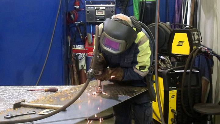 welding of strenx