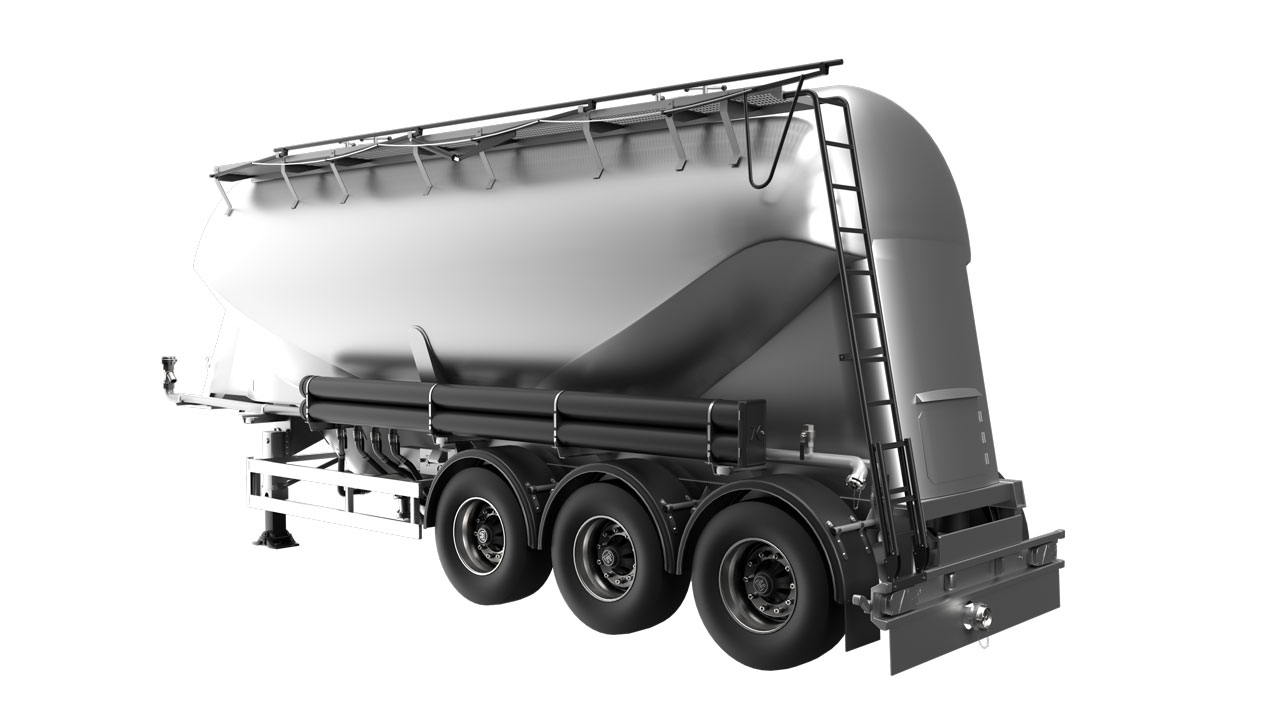Strenx® performance steel for cement bulk trailers