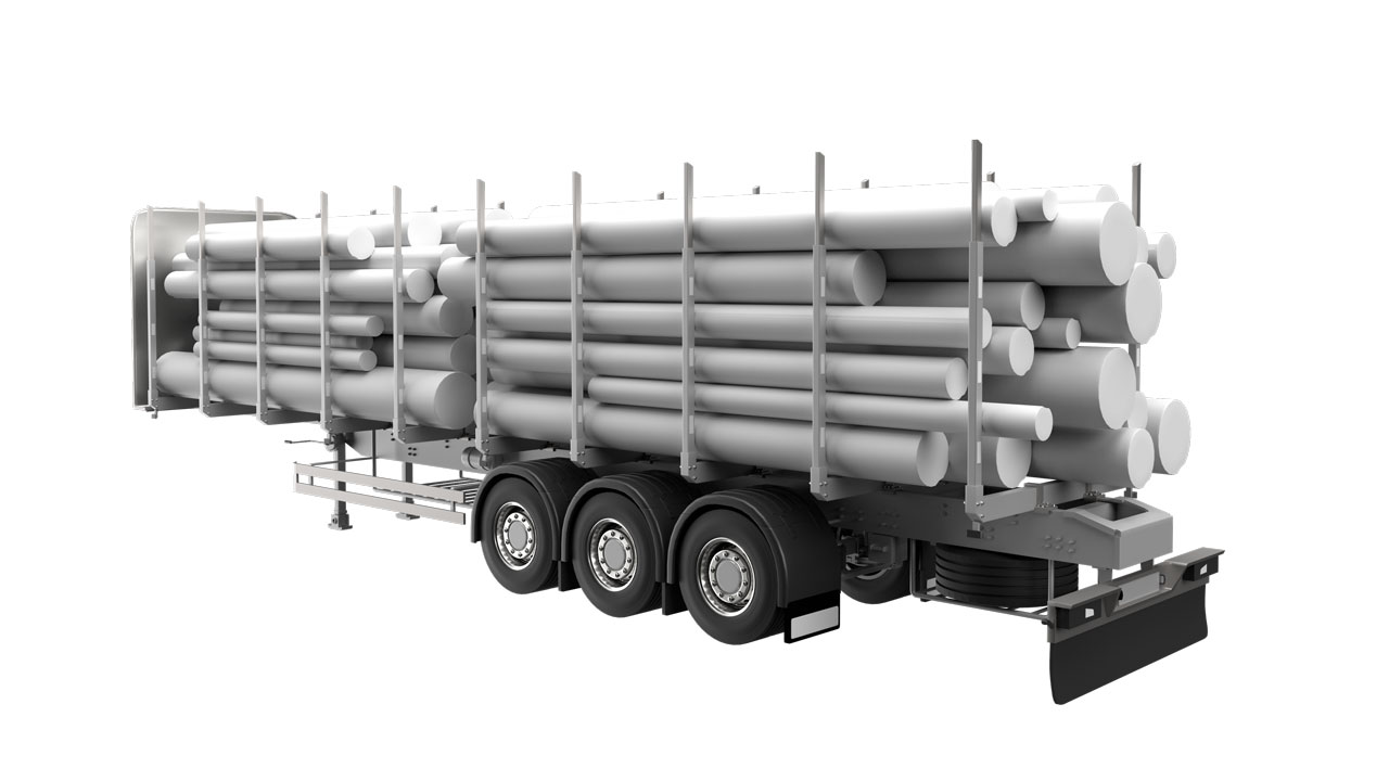 Strenx® performance steel for timber trailers