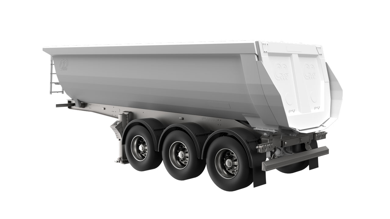 Strenx® performance steel for tipper trailers