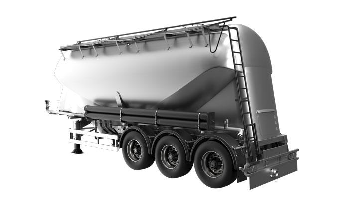 Cement bulk trailer