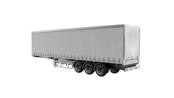 Curtain sider trailer