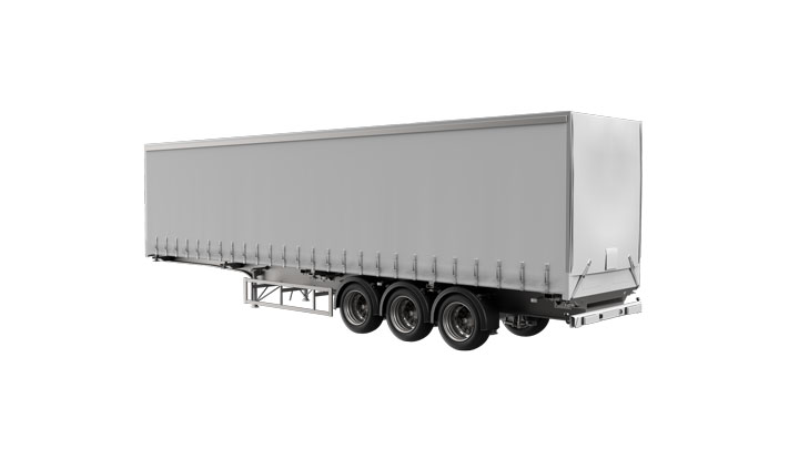 Curtain sider trailer
