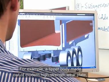 Konstruktérské tipy společnosti SSAB k vysokopevnostní oceli